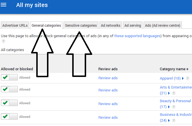 Increase Your Adsense Earning by Blocking Low Paying Ads