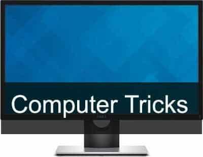 Computer Tricks