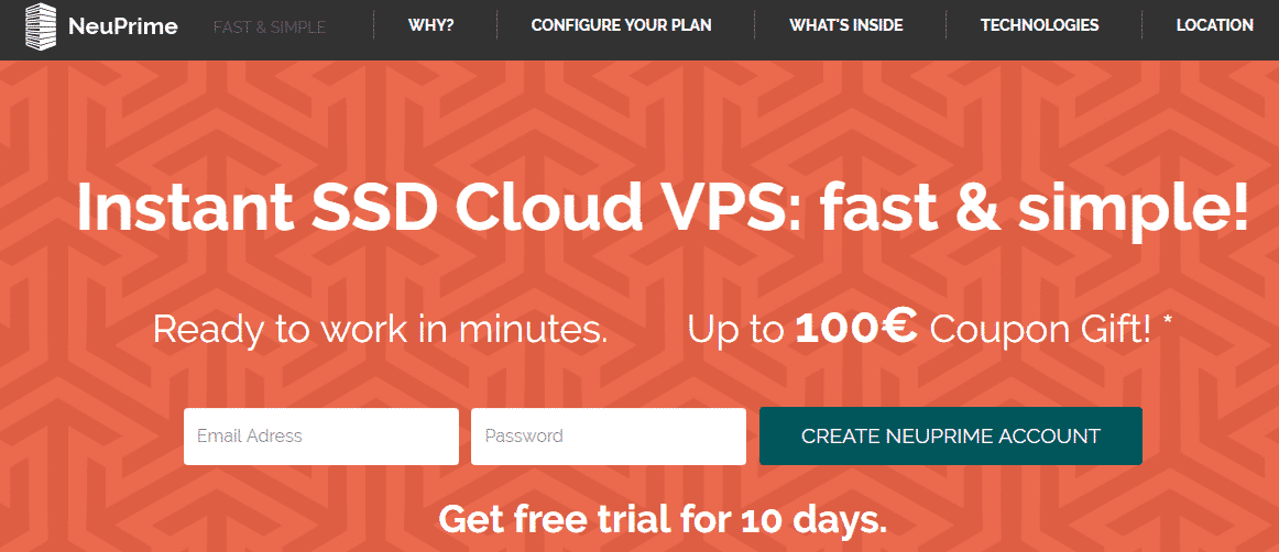 How To Get NeuPrime VPS For Free