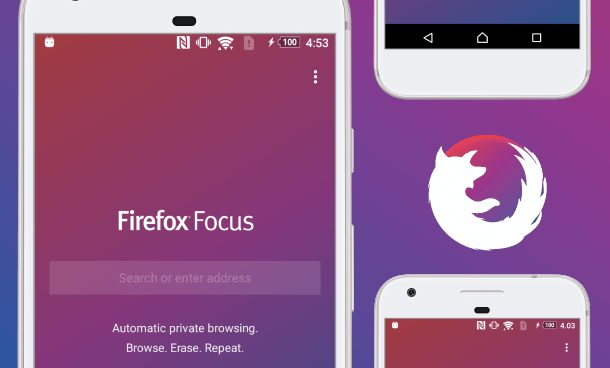 Firefox Focus best android ads blocked
