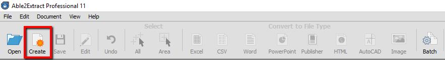 Create a PDF File
