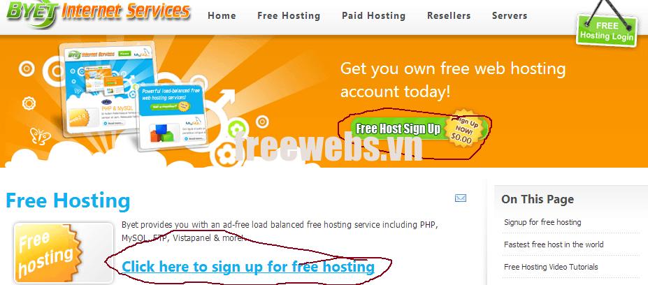 Top 10 Best Free Web Hosting Providers