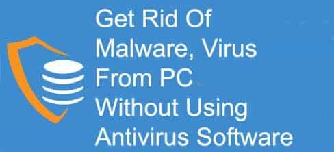 get rid of malware