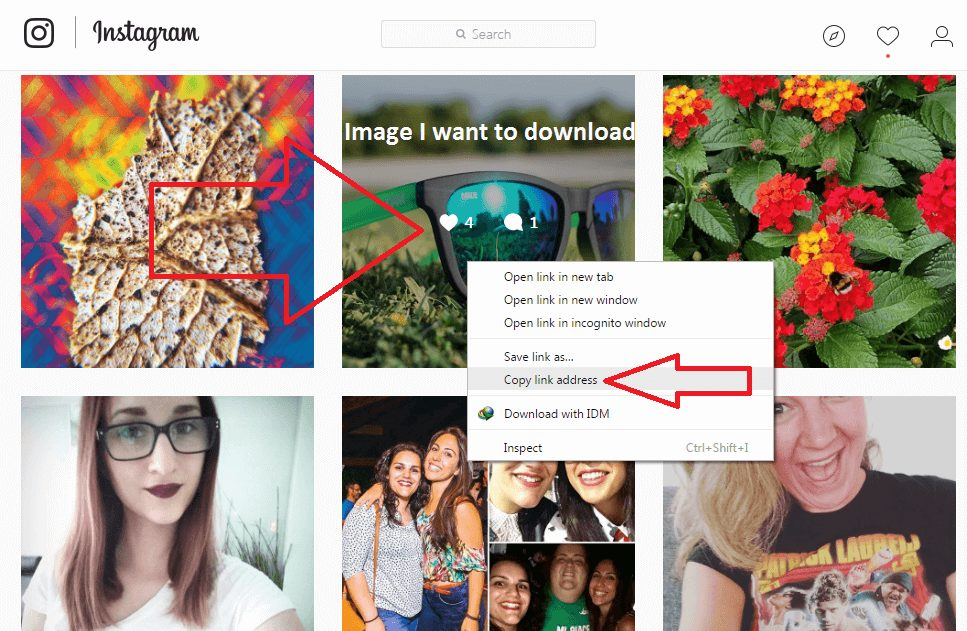 Download Instagram Photos Without Any App 2