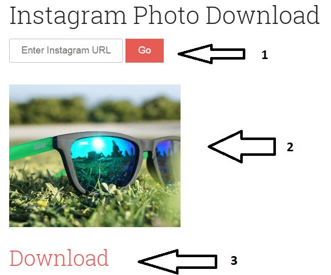 download and save instagram images