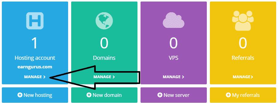 hosting manage