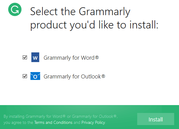 grammerly for office