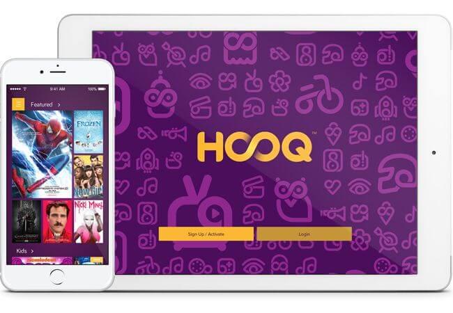 HOOQ movie app