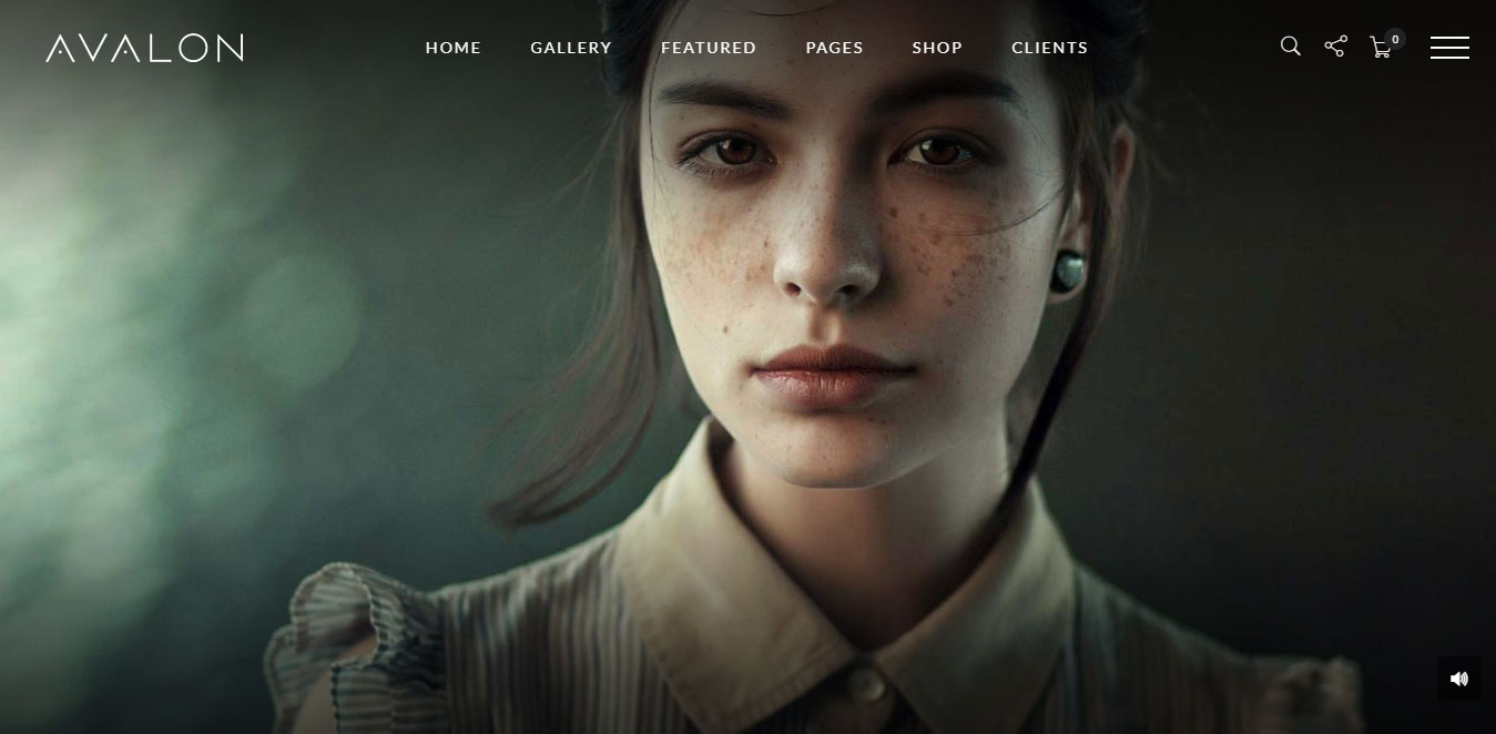 Portfolio WordPress Theme for Photographers