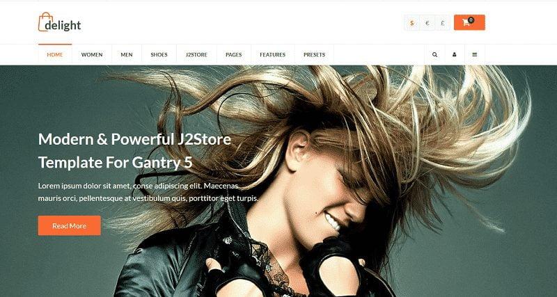eCommerce Joomla Template