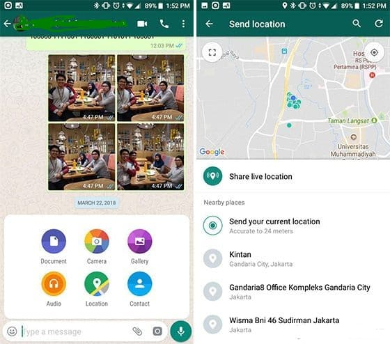 How To Know Location Through WhatsApp with Live Location Features