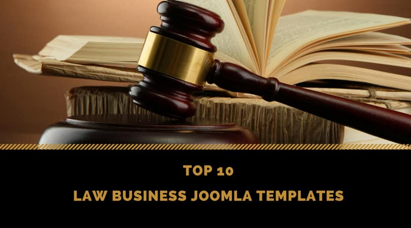 Top 10 Law Business Joomla Templates