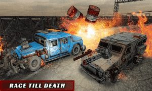 Extreme Death Racer Armored Car
