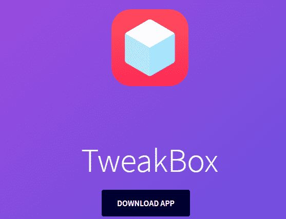 download TweakBox for premium spotify