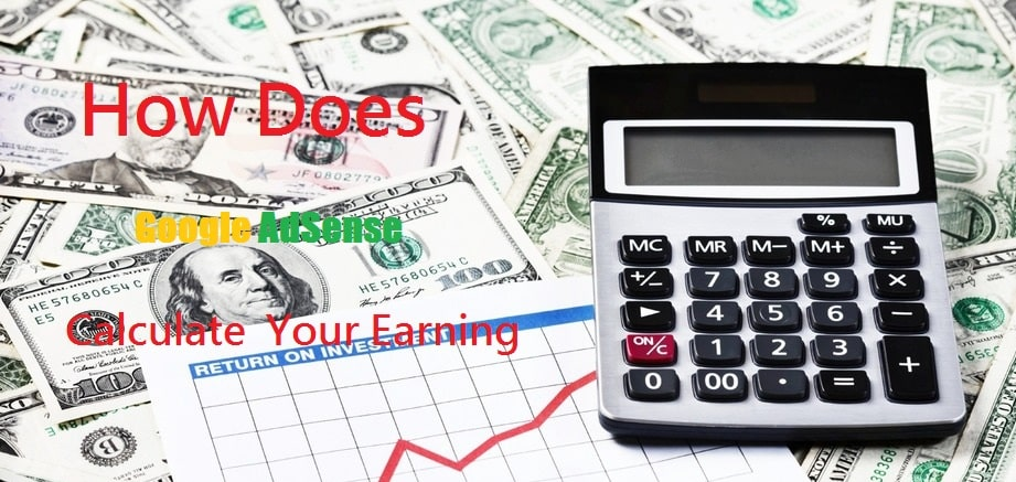 Google AdSense Calculate Earning