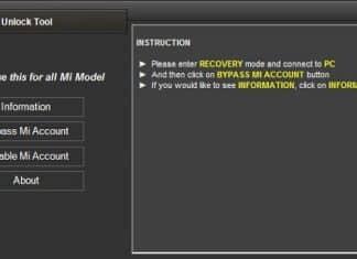 Remove MI Account Mi Account Unlock Tool