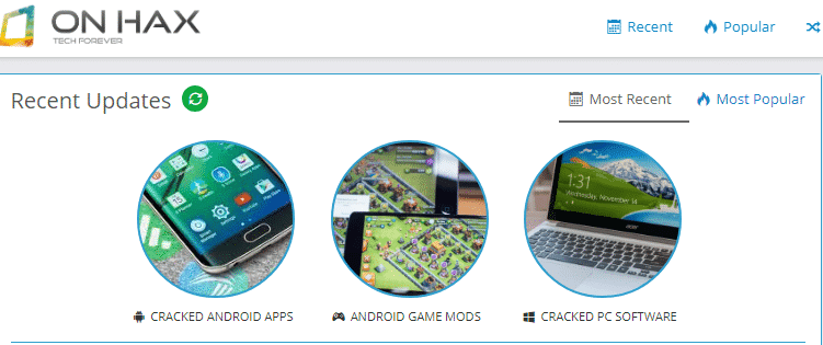 onhax best cracked android app provider for free