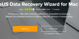 Restore deleted Mac Files by using EaseUS