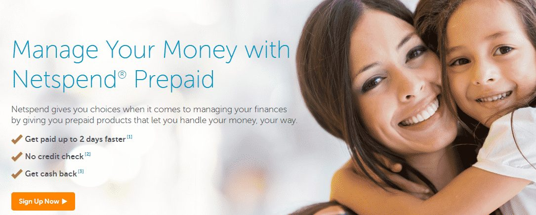 Netspend free prepaid card