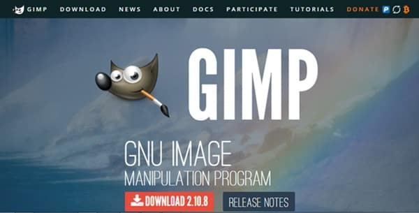 GIMP free gif maker tool