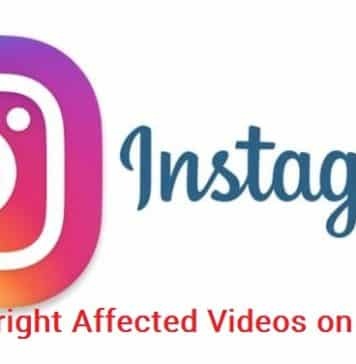 Post Copyright Affected Videos on Instagram