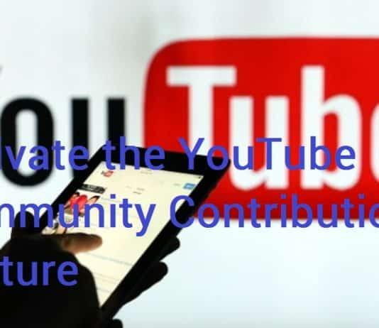 Activate Community Contribution