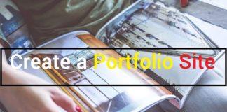 Create a Portfolio Site