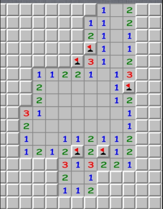 Minesweeper playing how