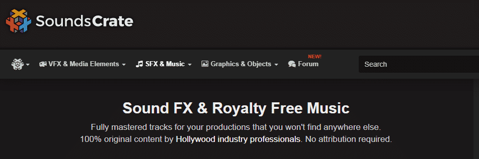 Sounds Crate royalty free music
