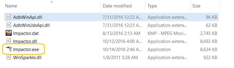cydia impactor install