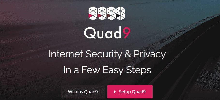 Quad9 Free DNS Servers