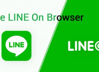 use LINE On Browser