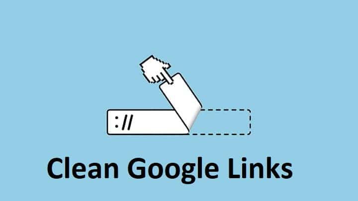 Clean Google Links