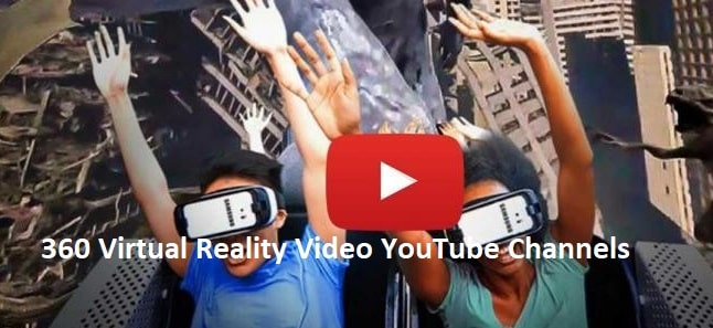 360 Virtual Reality Video YouTube Channels