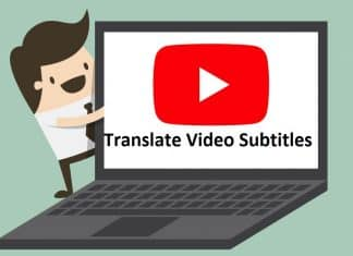 Translate youtube Video Subtitles