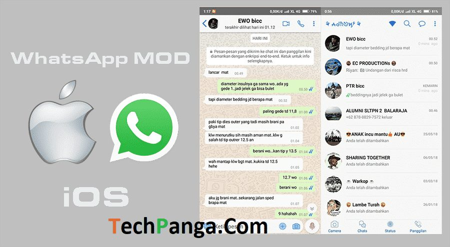 WhatsApp MOD iOS