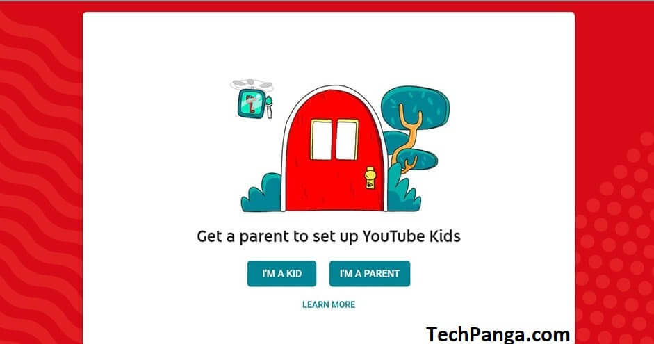 Child Profile on YouTube Kids 1