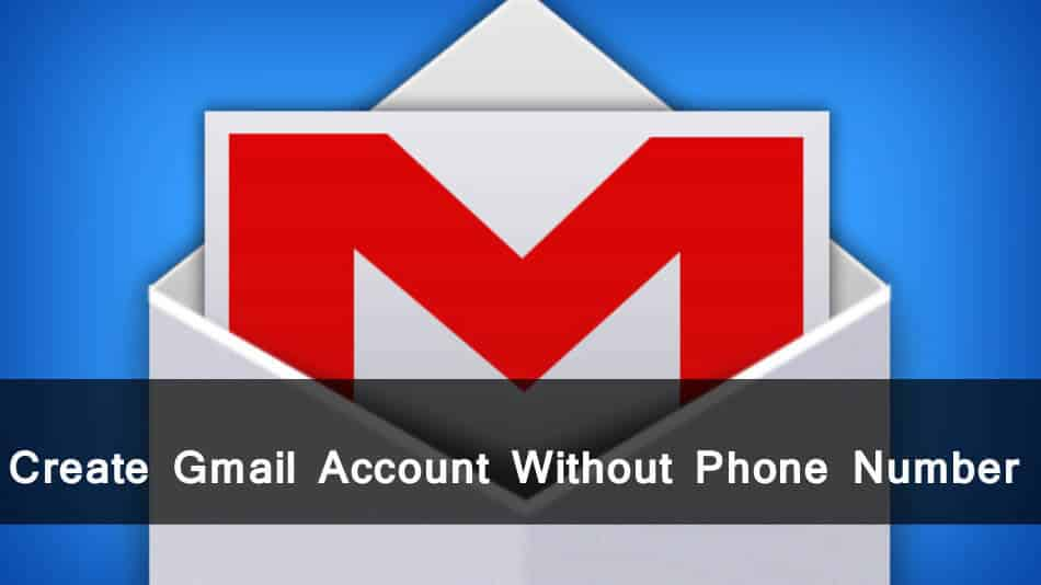 gmail without phone number