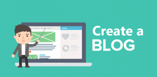 create a blog to make money