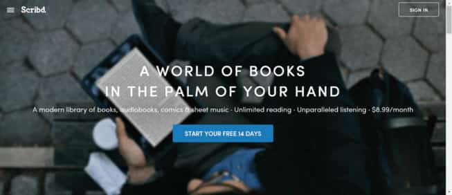 Scribd best site for free books