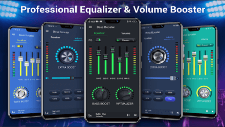 Equalizer -- Bass Booster