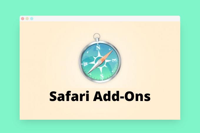 Safari Add-ons for Content Creators