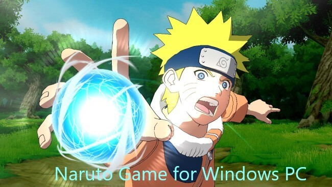 Naruto Game for Windows PC