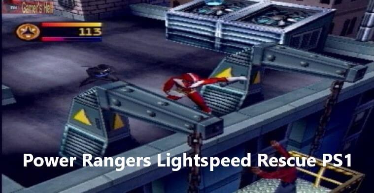 Power Rangers Lightspeed Rescue PS1