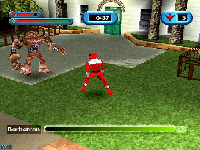 Power Rangers Time Force PS1