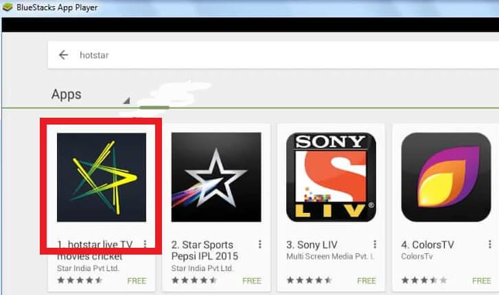 hotstar app for pc
