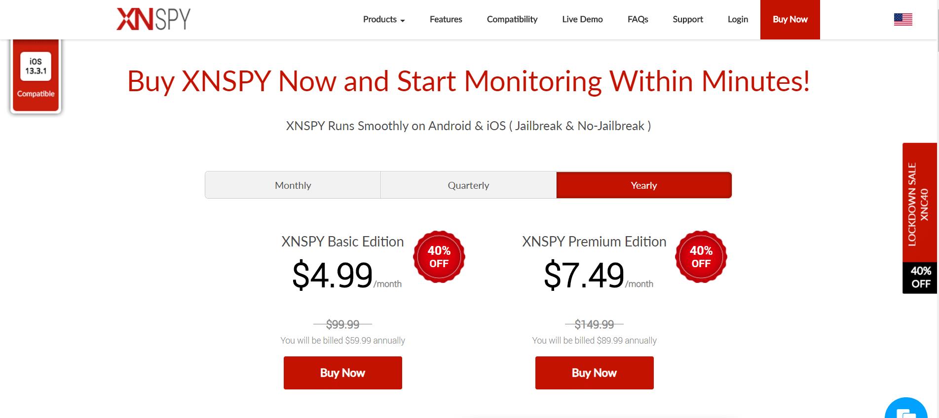 XNSPY price