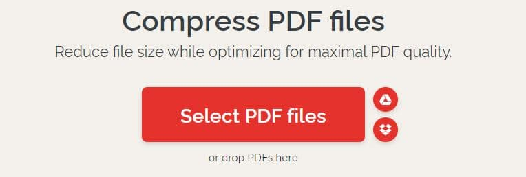 Compress PDF Files with an Online Website