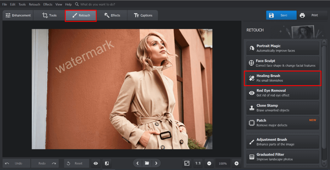 Remove Watermarks from Your Photos