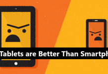 Why Tablets are Better Than Smartphones